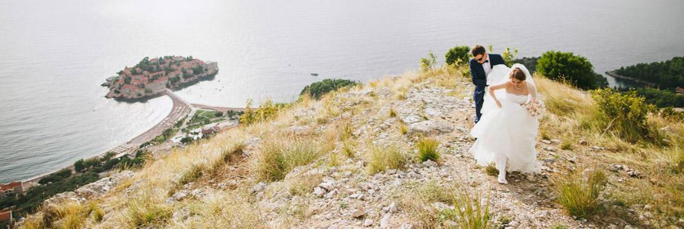 свадебная фотсессия в Черногории