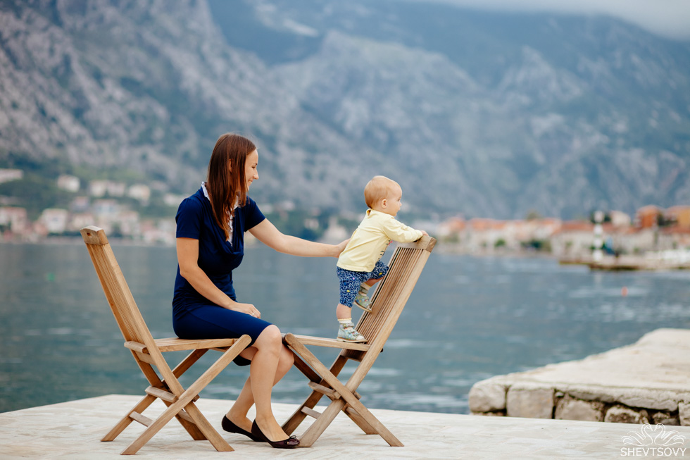 семейная фотосессия в Черногории