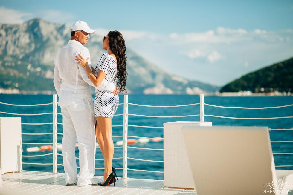 love story фотосессия в Черногории