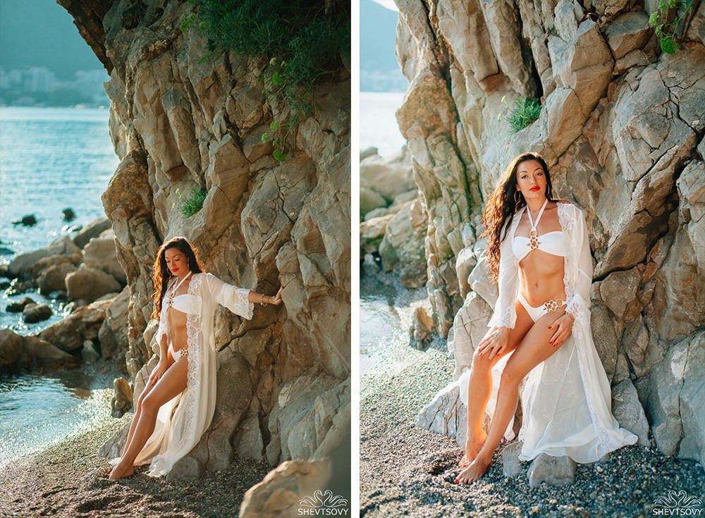 fashion фотосессия в Черногории, Хорватии