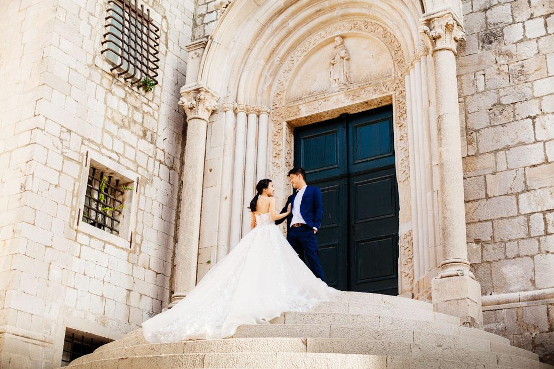 свадебный фотограф в дубровнике