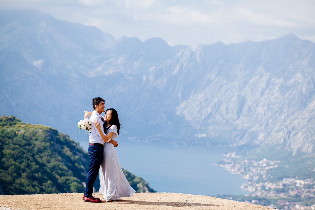 montenegro wedding photographer kotor prcanj lovcen