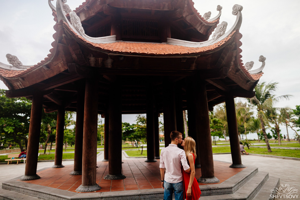love story фотосессия во Вьетнаме