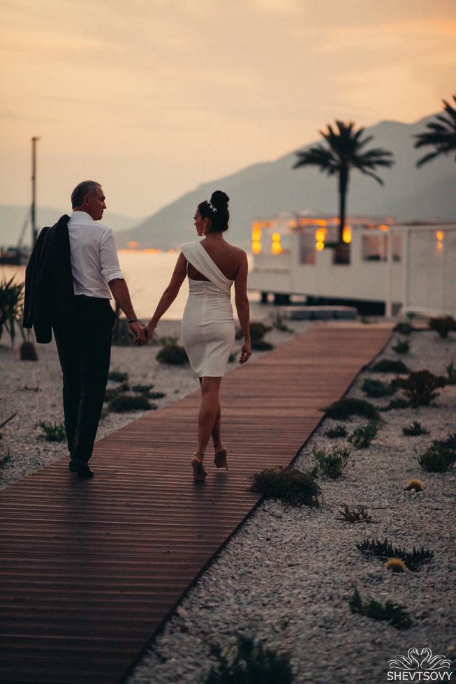 свадебная фотосесия в Черногории