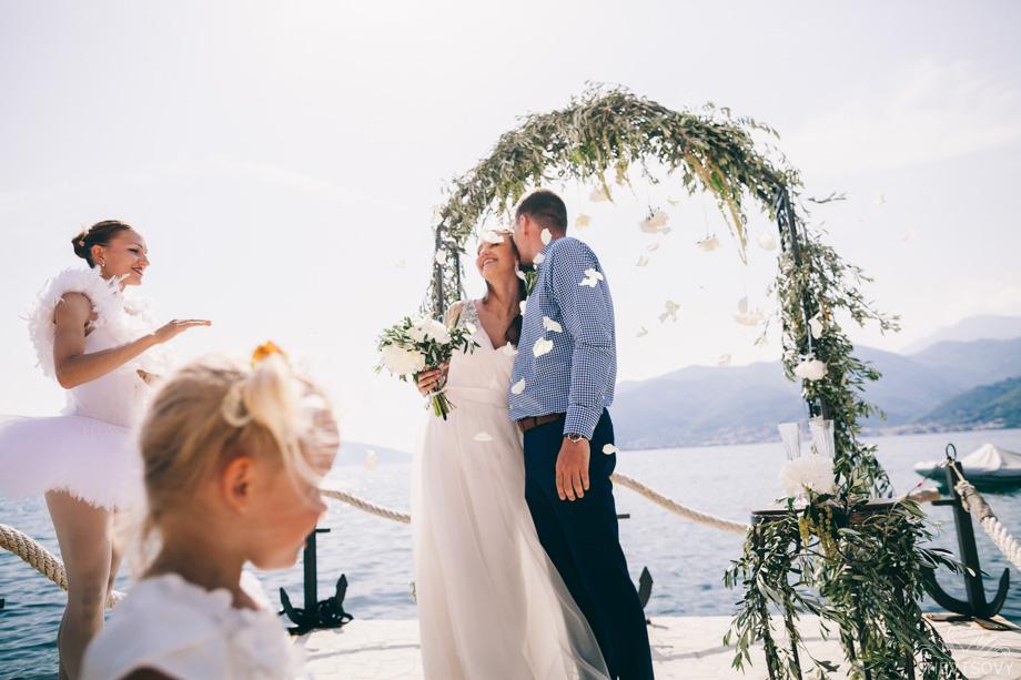 Свадебная фотосессия в Черногории, Тиват