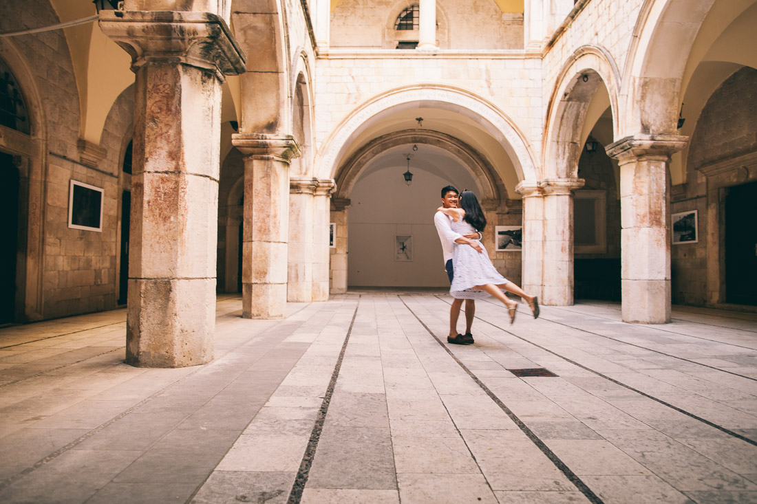 dubrovnik engagement photographer
