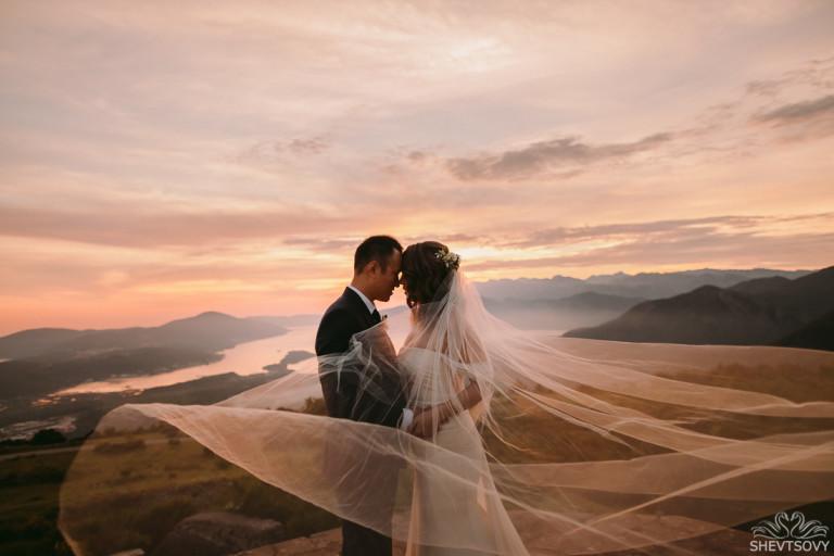 свадьба в которе черногория