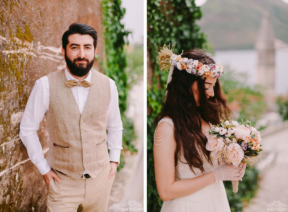 Свадебная фотосессия в Пераст
