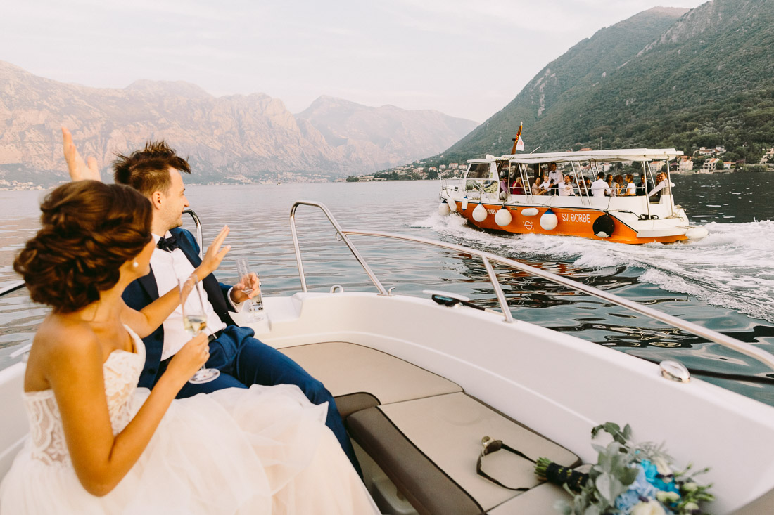 Forza Mare wedding in Dobrota
