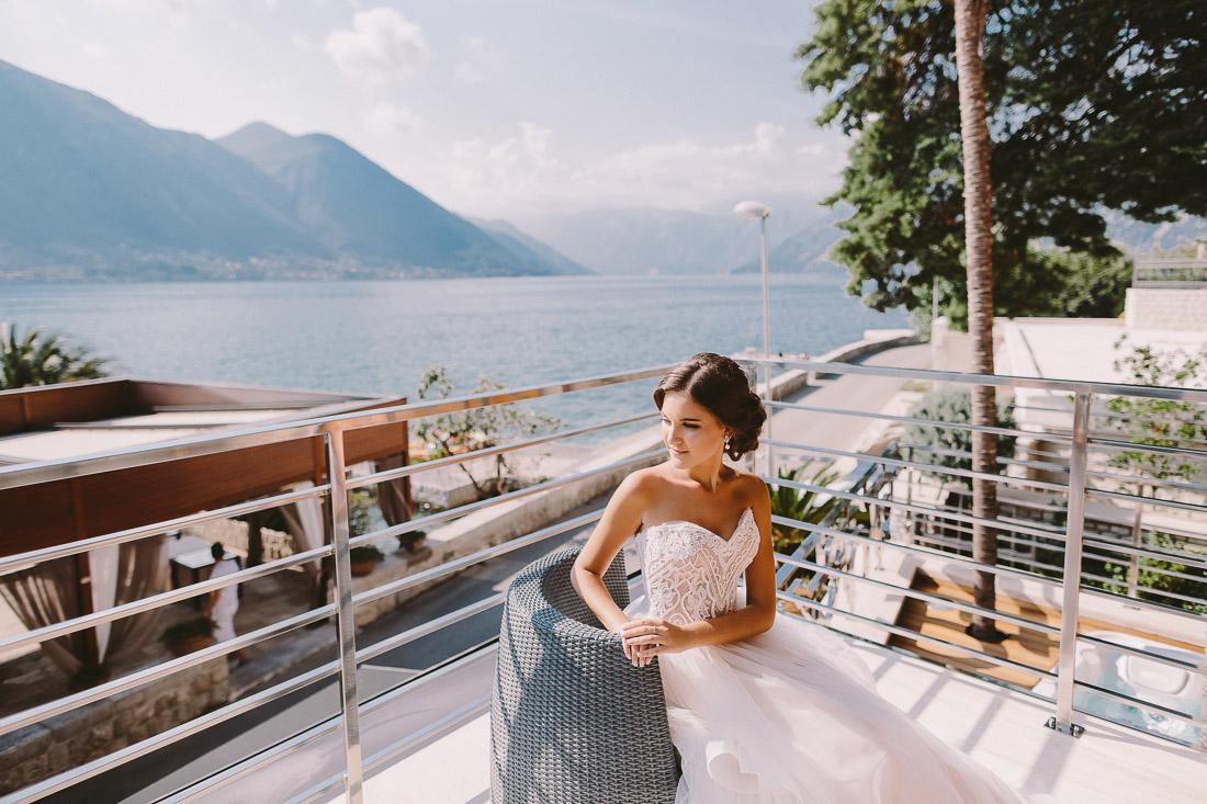 Свадьба в Доброте Forza Mare Hotel