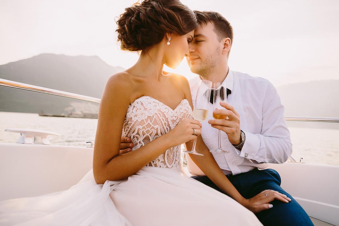 Forza Mare wedding in Dobrota