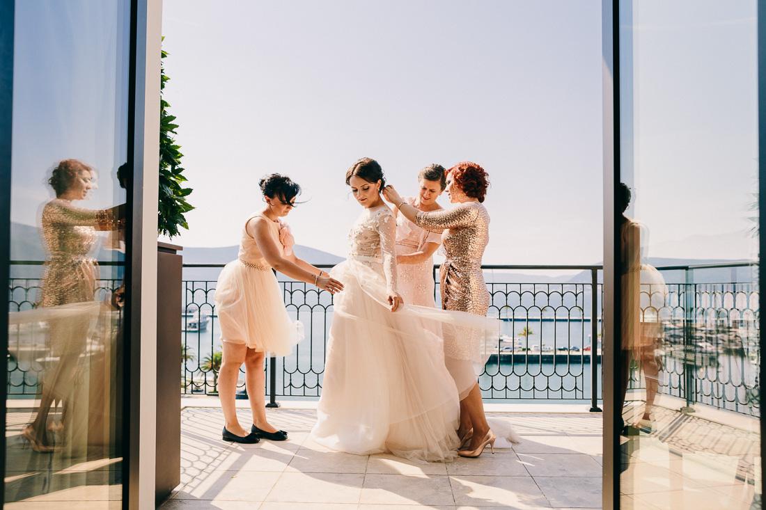 Свадьба в Порто Монтенегро Тиват
