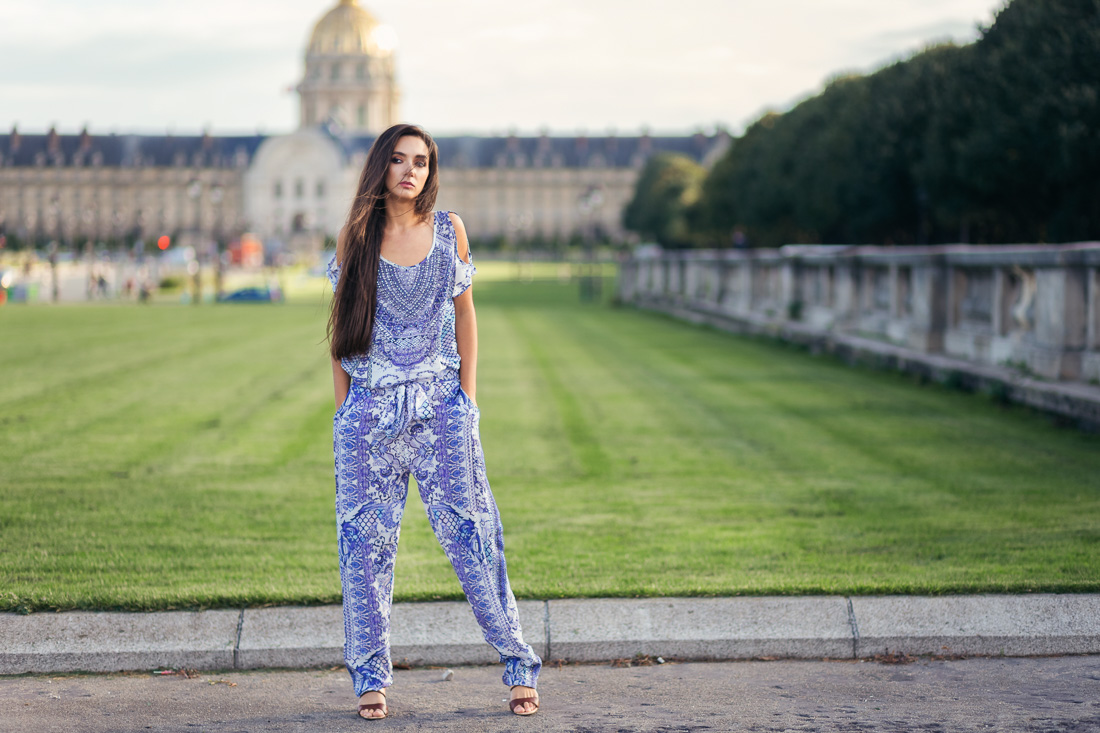 Fashion фотосессия в Париже