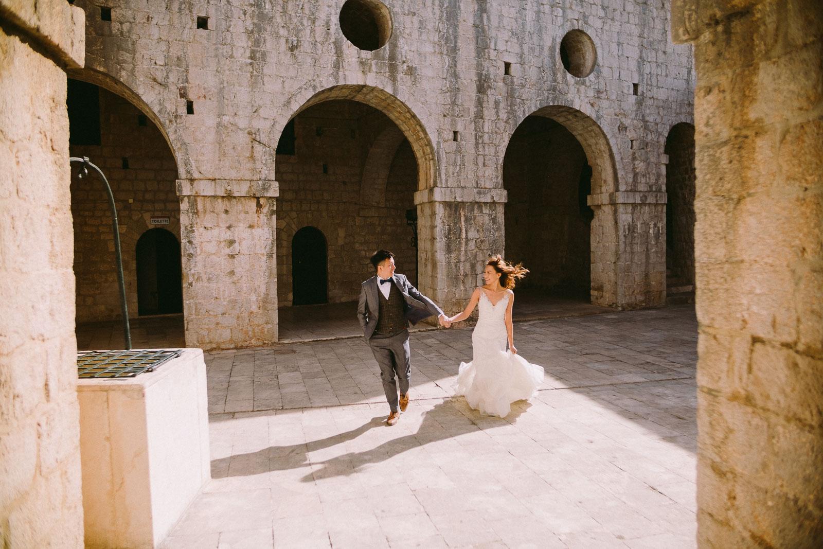 медовый месяц в Дубровнике