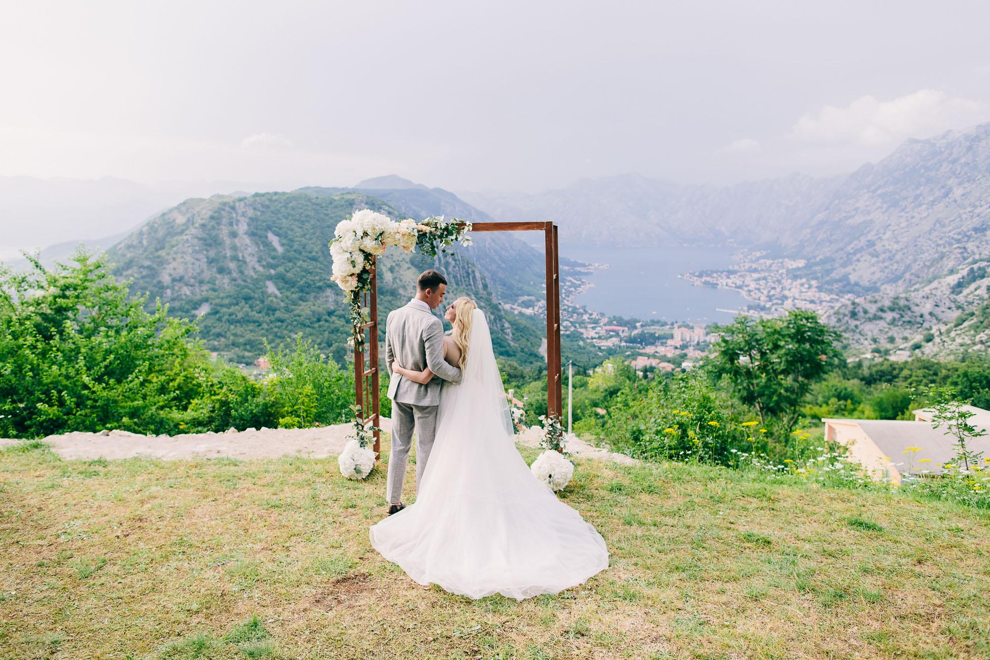 свадьба на Ловчене
