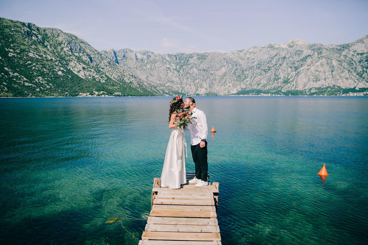 elopement wedding in kotor montenegro