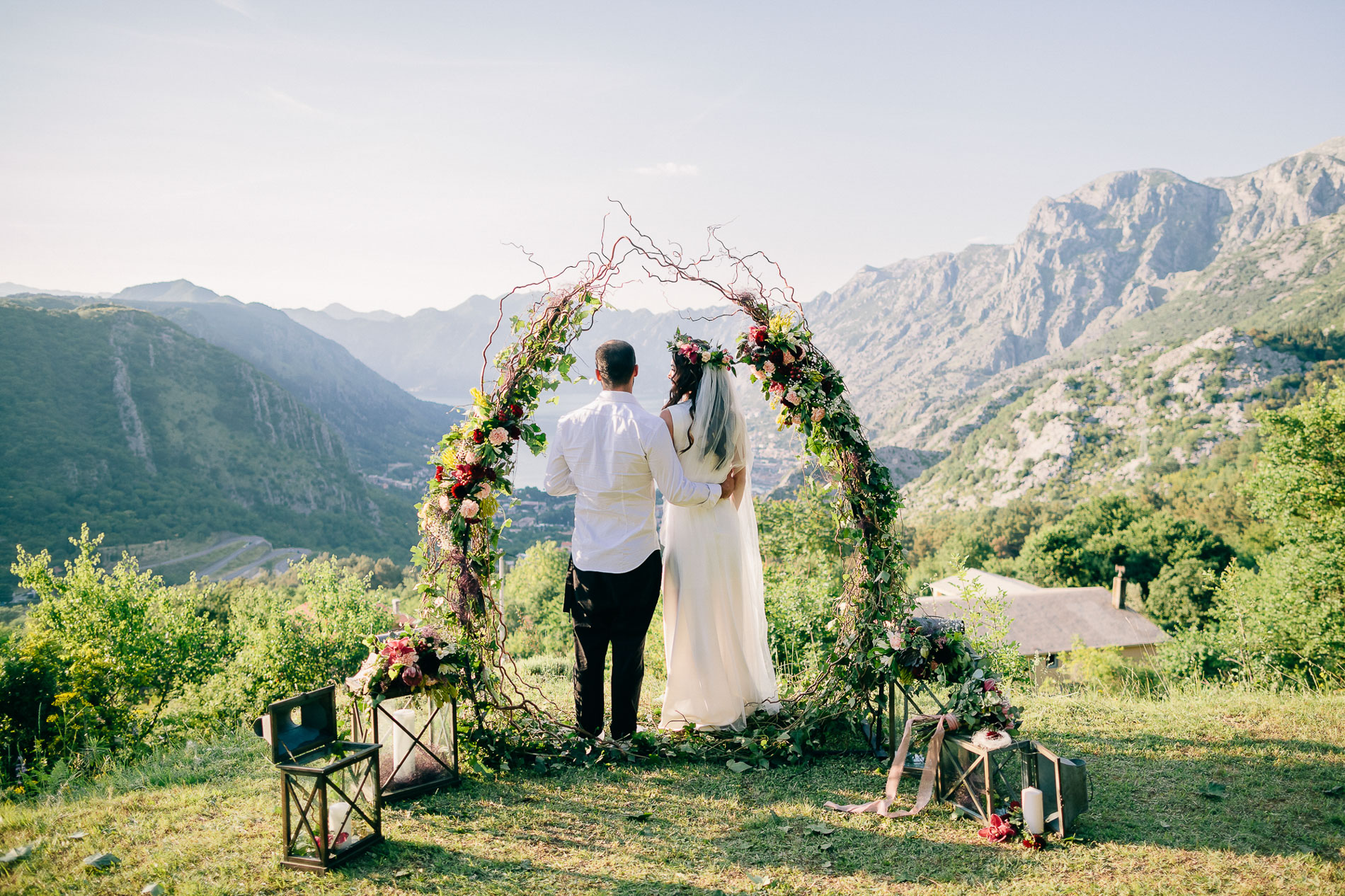 elopement wedding in kotor montenegro